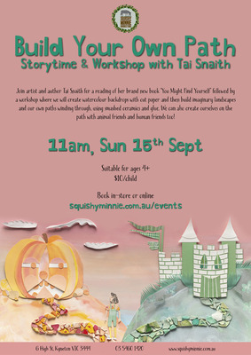 Build Your Own Path - Storytime & Workshop with Tai Snaith