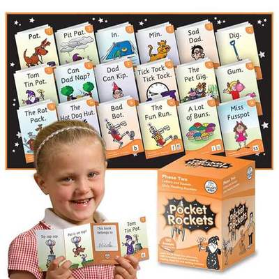 Pocket Rocket Booklets Phase 2 - Orange - 10 sets of 18 stories