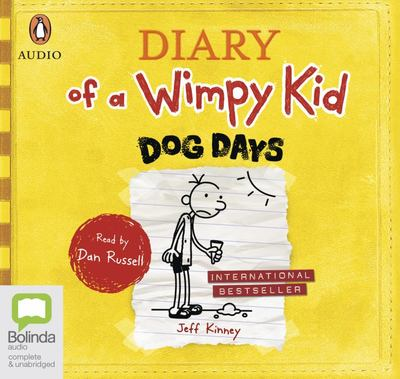 Dog Days (#4 Diary of a Wimpy Kid CD)