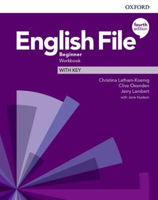English File 4th edition - Beginner Workbook with key