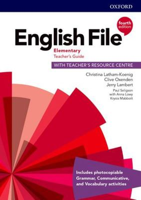 English File 4th edition - Elementary Teacher's Guide with Teacher's Resource Centre