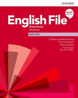 English File 4th edition - Elementary Workbook with key