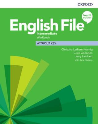 English File 4th edition - Intermediate Workbook without key