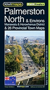 Kiwi Maps Palmerston North & Environs