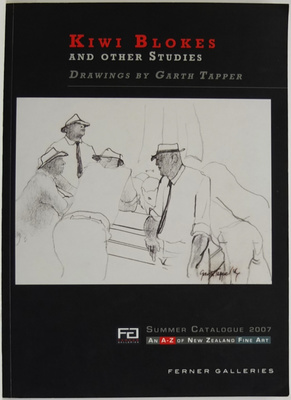 Kiwi Blokes and Other Studies Drawings By Garth Tapper