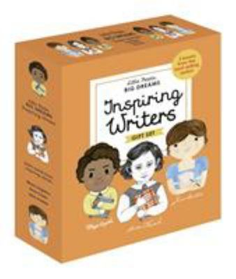 Inspiring Writers (Little People, Big Dreams) Box Set