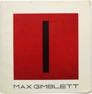 Max Gimblett Paintings On Canvas And Paper October 14 - November 29, 1980