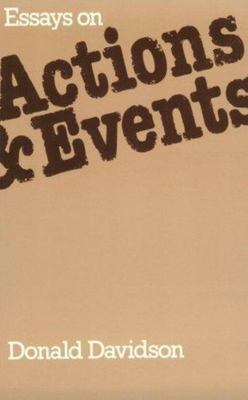 Essays on Actions & Events