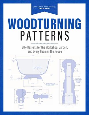 The Wood -Turning Patterns - Over 80 Designs to Make at the Lathe for Your Shop, Garden, and Every Room in Your House!