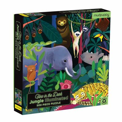 Jungle Illuminated 500pc Glow in the Dark Puzzle