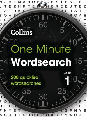 Collins One Minute Wordsearch Book 1