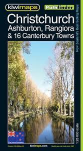 Christchurch, Ashburton, Rangiora & 19 canterbury towns Map