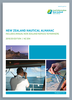 New Zealand Nautical Almanac 204 (2016/17 edition)