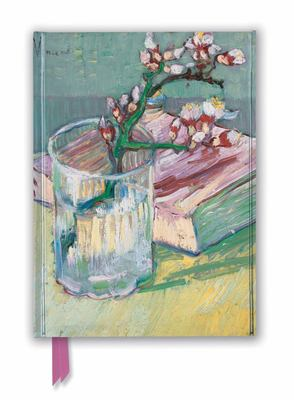 Vincent Van Gogh: Flowering Almond Branch (Foiled Journal)