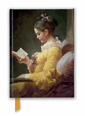 Jean-Honoré Fragonard: Young Girl Reading (Foiled Journal)