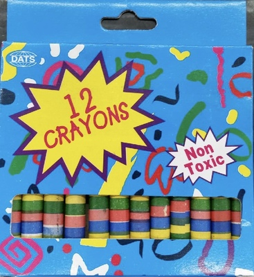 Large dats crayons