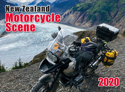 New Zealand Motorcycle Scene 2020  Wall Calendar 210mm x285mm
