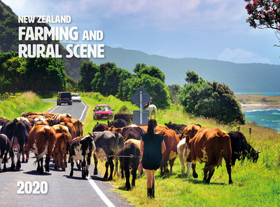 New Zealand Farming and Rural Scene 2020  Wall Calendar 210mm x285mm