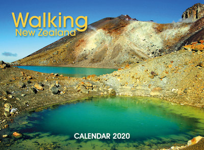 Walking New Zealand 2020  Wall Calendar 210mm x285mm