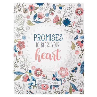 Promises to Bless Your Heart (Adult Colouring Book)