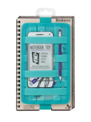 Bookaroo Notebook tidy Turquoise