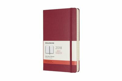 Pink Large Daily Hardcover Moleskine 2018 Diary