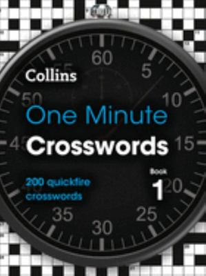 Collins One Minute Crosswords Book 1