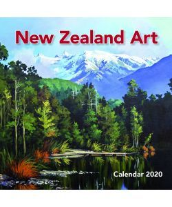 New Zealand Art Wall Calendar