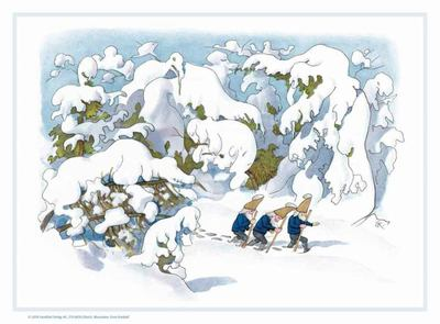 Gnomes in the Snow Advent Calendar