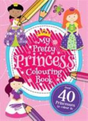 My Pretty Princess Colouring book