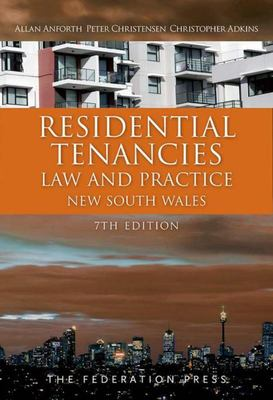 Residential Tenancies Law and Practice New South Wales 7th Edition