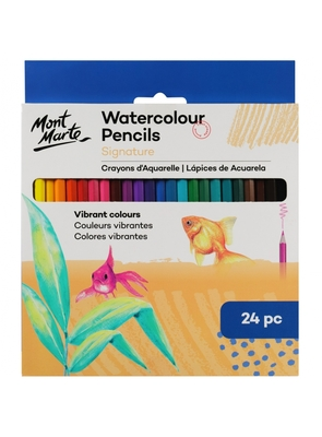 Signature Watercolour Pencils 24pce MPN0032