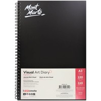 Homepage mont marte signature visual art diary a3 120page msb0002 v02 f2