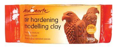 MMSP0006 Premium Air Hardening Modelling Clay - Terracotta 500g