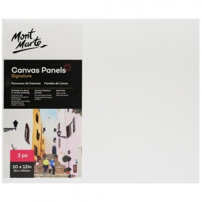 Signature Canvas Panels Pack 2 25.4x30.5cm CMPL2530