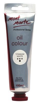 MPO0001 MM Oil Paint 100mls - Titanium White