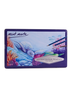 Large mont marte watercolour pencils 36pce mpn0004 1