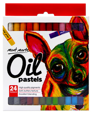 MM Oil Pastels 24pc MMPT0014