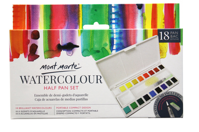 Large pmhs0035 v01 mm watercolour half pan set 18pan front