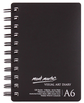 MM Visual Art Diary A6 120page MSB0072