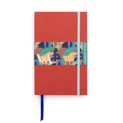 V&A Design Notebook: Albertopolis Red