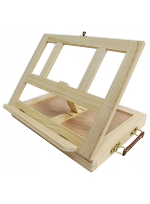 Large mont marte signature tabletop easel with drawer mea0023 v04 7