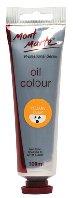 MPO0004 MM Oil Paint 100mls - Yellow Deep