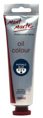 MM Oil Paint 100mls - Phthalo Blue MPO0017
