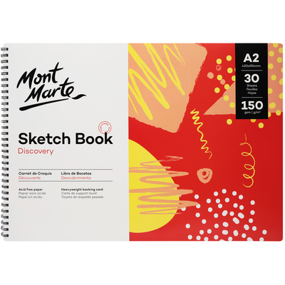 MSB0117 MM Sketch Book 150gsm A2