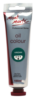MM Oil Paint 100mls - Viridian MPO0023