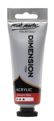 PMDA0010 MM Dimension Acrylic 75mls - Brilliant Red