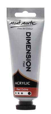 PMDA0035 MM Dimension Acrylic 75mls - Red Ochre