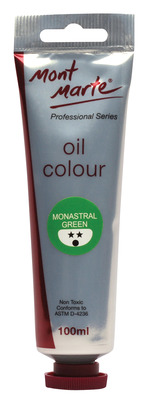 MM Oil Paint 100mls - Monastral Green MPO0021