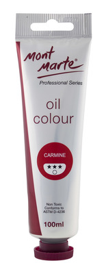 MM Oil Paint 100mls - Carmine MPO0037